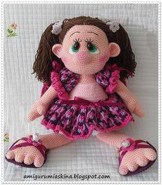 Amigurumi Zefirka Doll pattern by Amigurumi Aşkına ~ free pattern
