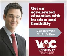 Complete your Online MBA Program at WAC University with freedom and flexibility.