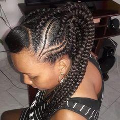#trenzas #braids #peinadoscontrenzas #trenzaspegadas #trenzasencola #trenzas #braids My People, Braids, Dreadlocks, Hair Styles, Girls, Beauty, Instagram, Plaits Hairstyles, Beleza