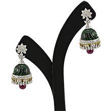 The Anarkali Jhumka- Designer Diamond Jhumkas with Prices Online