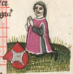 Necrologium Minoritarum Ratisponensium (saec. XIII-XVI). Berthold Furtmeyr / Johannes Rab Clm 1004 / Ratisbon. civ. 30 [Regensburg], 15. Jahrhundert Folio 26