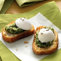 Crostini and Toppings Recipes - Crostini Topping Ideas - Delish.com