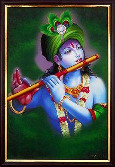 Krishna Radha, Cute Krishna, Radha Krishna Pictures, Lord Krishna Images, Krishna Flute, Krishna Lila, Hanuman Images, Ganesha Pictures, Buddha Painting