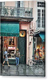 Here's Looking At You Acrylic Print by Robert W Cook