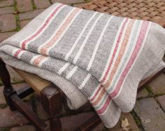 Hand Woven Merino Wool Blankets by NordtFamilyFarm Diy Crochet Afghan, Loom Knitting, Knitting Patterns, Weaving Projects, Textiles, Comfy Blankets, Weaving Techniques, Merino Wool Blanket, Hand Weaving