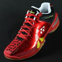 Yonex SHB01LTD mens badminton shoe Red | Central Sports
