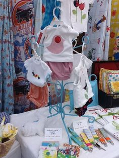 Baby Shower display. After you open gifts display them for all to admire