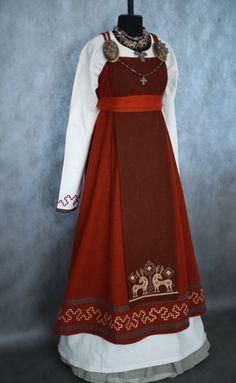 Viking Garb, Viking Dress, Viking Costume, Medieval Costume, Medieval Dress, Norse Clothing, Medieval Clothing, Historical Clothing, Period Outfit