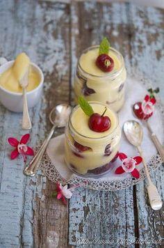 Crostata di ciliegie in barattolo