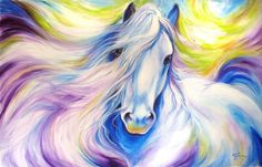Favorite art of Marcia Baldwin Currently viewing DREAMSCAPE ~ COMMISSIONED - by Marcia Baldwin from FOR THE LOVE OF HORSES Page -1 of 4