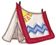 Camping Applique 5, SWAK Pack - 2 Sizes! | Camping | Machine Embroidery Designs | SWAKembroidery.com Bunnycup Embroidery