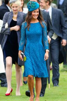 34 of Pippa Middleton's best looks on her birthday Wedding Dresses 2018, Wedding Dress Trends, Pippa Middleton Wedding Dress, Wedding Guest Outfit Inspiration, Dress Link, Wedding Matches, Celebrity Weddings, Nice Dresses, Celebrities