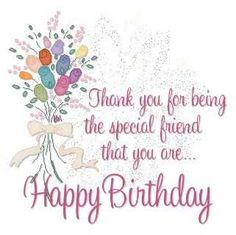 Birthday Wishes For Friends - BEST Happy Birthday Friend Quotes