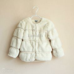 Z~Fur Coat Kids Winter Cute White Casual Coat Fashion Lace Princess Jacket Children Outwear     #Casual, #Children, #Coat, #Cute, #Fashion, #Jacket, #Kids, #Lace, #Outwear, #Princess, #White, #Winter, #ZFur