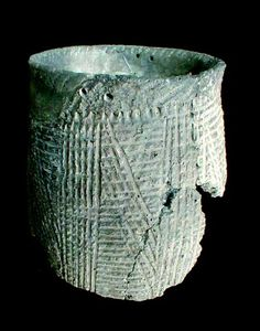 Townsend Vessel. Colonial National Historical Park: A Study of Virginia Indians and Jamestown-The First Century. Some wonderful things on this website including trade beads, shell beads, vessels, masks.