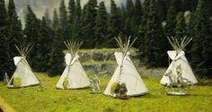 how to make a model teepee for school project