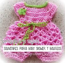 Resultado de imagen para vestidos de bebe tejidos a crochet con patrones