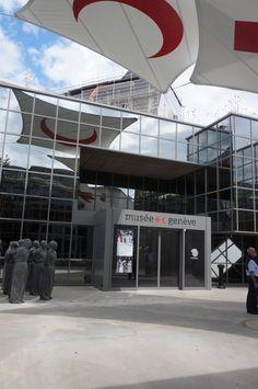 Museum, Basketball Court, Red Cross, Geneva