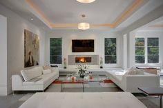 Madison Park Modern - contemporary - living room - seattle - Darren Patt Construction
