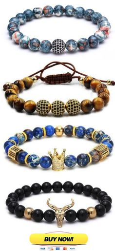 Mens Beaded Bracelets, Mens jewelry, Stone bracelet, Mens Bracelet, 50% Off Entire Collection