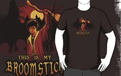 I found 'THIS IS MY BROOMSTICK T-Shirt by MeganLara' on Wish, check it out!