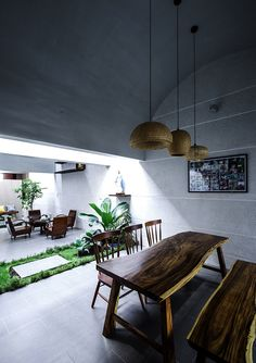 23o5 studio blurs boundary between inside and outside in vietnamese house