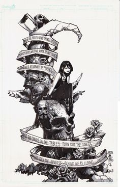 Death of the Endless by Chris Bachalo
