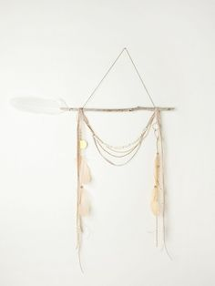 I love this SO much, but $188 seems a bit steep for what it is. May DIY one?   Free People Wow Dreamcatcher, $188.00