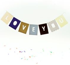 Negative print  LOVE