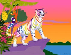 This is based on a Lisa Frank folder - by insectikette
