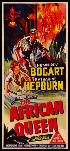 The African Queen posters for sale online. Buy The African Queen movie posters from Movie Poster Shop. We're your movie poster source for new releases and vintage movie posters. Best Movie Posters, Cinema Posters, Movie Poster Art, Poster On, Poster Prints, Katharine Hepburn, Humphrey Bogart, Old Movies, Vintage Movies