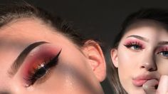thank you so much for watching my summer sunset glam makeup tutorial ft. the morphe palette. Glitter Eyeshadow Tutorial, Nyx Glitter Primer, Gold Glitter Eyeshadow, Fall Makeup Tutorial, Glitter Eye Makeup, Eye Tutorial, Abh Modern Renaissance Palette, Makeup Magazine
