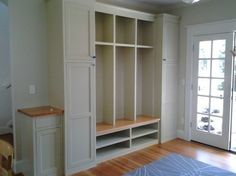 Entryway with lockers