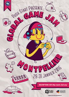 Project 3, Montpellier, Social Media, Play, Games, Poster, Gaming, Social Networks, Plays