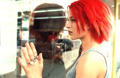 Lola (Franka Potente) receives a frantic phone call from her boyfriend, Manni (Moritz Bleibtreu), a small-time criminal who has just collected I Movie, Movie Stars, Franka Potente, Et Tattoo, Star Wars, Gorgeous Redhead, Film Inspiration, Girl Celebrities, Dream Hair