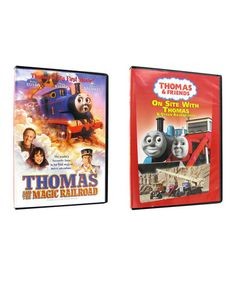 Take a look at this Thomas & Friends On Site with Thomas & Magic Railroad DVDs by iNetVideo.com on #zulily today!