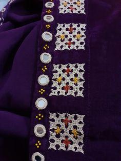 Kutch Work, Hand Embroidery Videos, Blouse Designs, Brooch, Artwork, Jewelry, Work Of Art, Jewlery, Auguste Rodin Artwork