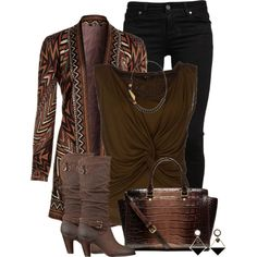 Aztec.., created by wulanizer on Polyvore