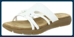 Aerosoles Wip Away Damen US 12 Weiß Sandale - Sandalen für frauen (*Partner-Link)