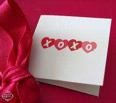 VALENTINE'S DAY Printable XO Mini Cards :: by PoshPixels.etsy.com • $7.00