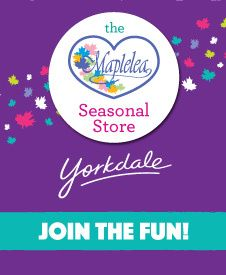The Maplelea Seasonal Store at Yorkdale Shopping Centre Holiday Gift Guide, Holiday Gifts, Durham Region, Canadian Girls, Tis The Season, Centre, Have Fun, Great Gifts, March