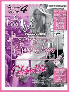 Per la Notte Rosa alla Villa delle Rose si festeggia in stile Saint Tropez!