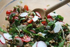 farro salad http://www.lottieanddoof.com/2014/01/another-year-another-farro-salad/