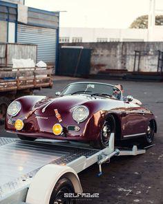Porsche 356 Outlaw, Porsche 911 996, Porsche 356 Speedster, Porsche Sports Car, Porsche Cars, Vintage Porsche, Vintage Cars, Triumph Cafe Racer, Dream Car Garage