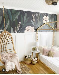 Small Space Living : Girls Bedroom Ideas, how we transformed this room - Dreaming of Homemaking Room Design Bedroom, Girl Bedroom Designs, Kids Room Design, Bedroom Decor Kids, Small Bedroom Ideas For Girls, Girls Bedroom Decorating, Simple Girls Bedroom, Wall Design, Small Girls Bedrooms