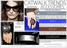 Catwalk Accessory Trends Autumn Winter 2012/13