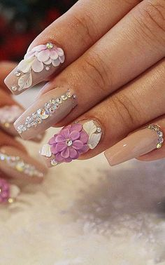 Would you like to fascinate everyone with your nails in summer? When you look at the acrylic nail design ideas on this page you will understand what we mean Square Acrylic Nails, Square Nails, Acrylic Nail Designs, Matte Nail Polish, Nail Polishes, Square Nail Designs, Nails Design, You Nailed It, Waiting