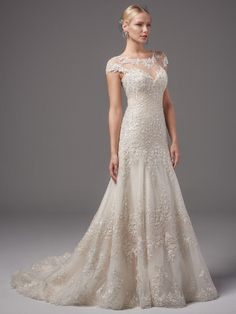 Mermaid Wedding Dress by Sottero and Midgley - Image 1 zoomed in