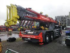 2018 Kato 80 Ton Rafter Crane Kr 80h F Sl 850rf Sl8506 2021 クレーン