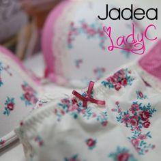JADEA coordinato push-up e slip in cotone donna art. 4345 - LADY C